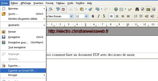 630a0b5ace36ae Faire un pdf avec des zones de saisie – Le site de Christian Weiss